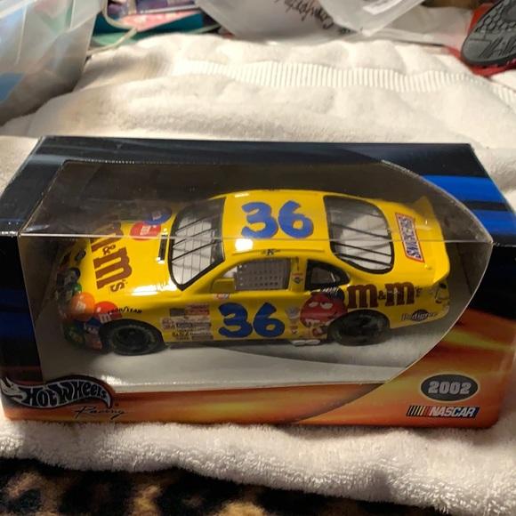NASCAR HotWheels Ken Schrader #36 M&M die cast car